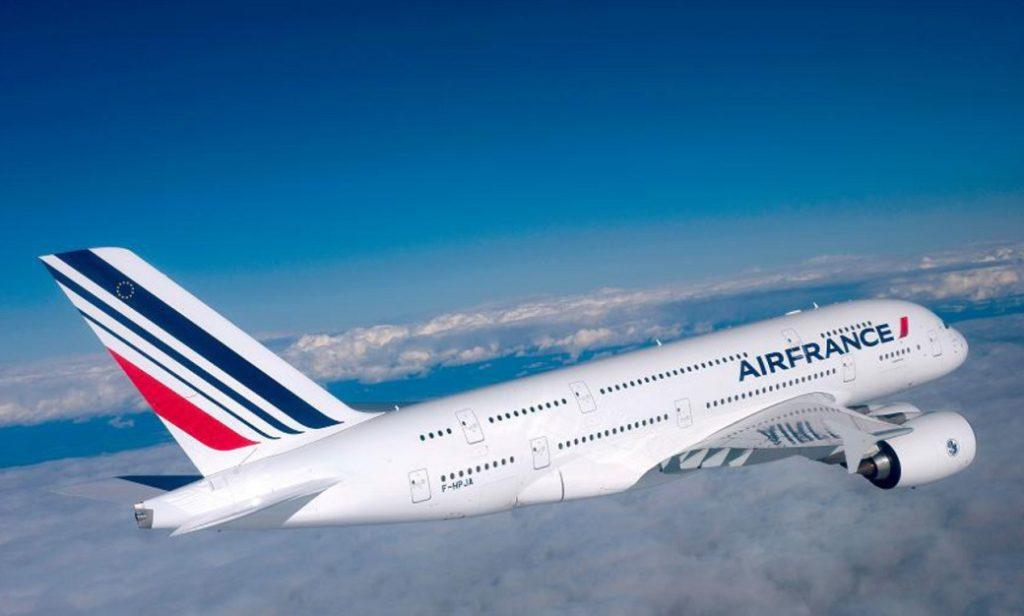 Перелет во Францию