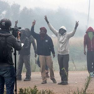 Во Франции пытаются создать вооруженное сопротивление мигрантам