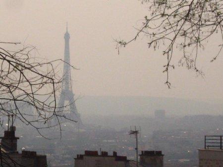 Париж находится во власти смога