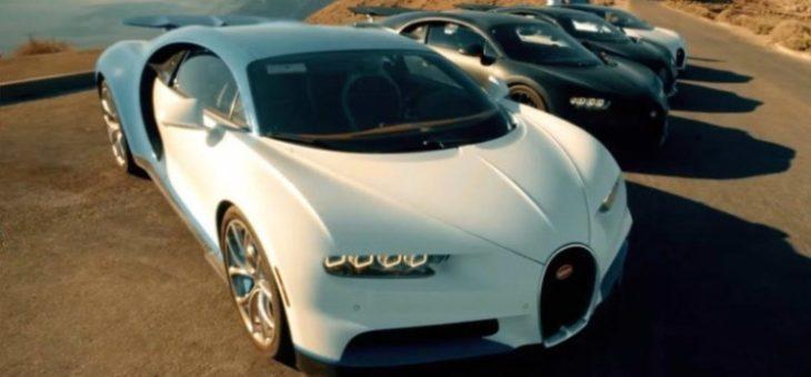 В Интернете появились первые фотографии внедорожника Bugatti