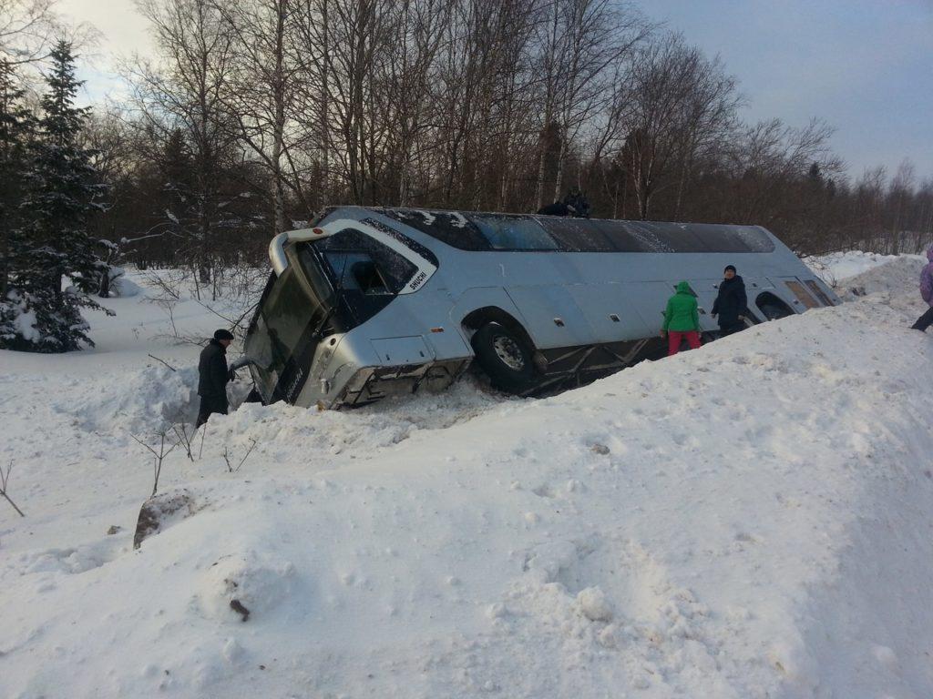 В ДТП с участием автобуса во Франции погибло пять человек