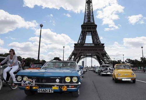 В Париже запрещено эксплуатировать автотранспорт старше 2000 года