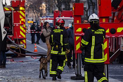 Взрыв на фабрике в одном из пригородов Парижа