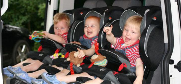 Маленький пассажир, или правила дорожного движения с детьми во Франции
