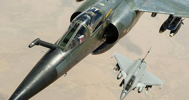 Пилоты ВВС Франции не считают российских военных летчиков своими врагами