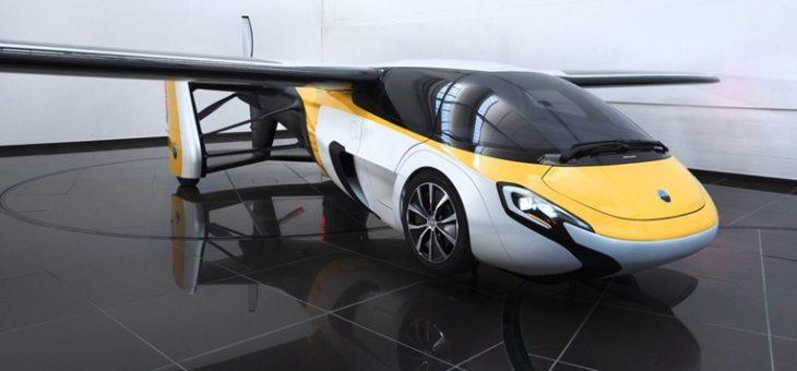 На автосалоне в Монако представлен серийный летающий автомобиль