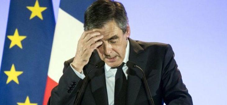 Во Франции обокраден автомобиль сопровождения Франсуа Фийона