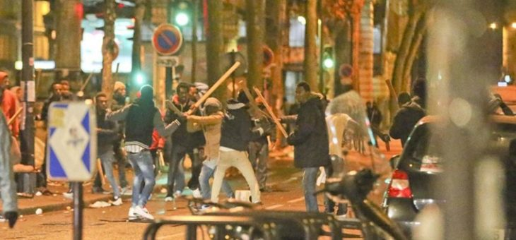 В Париже подрались афганцы и суданцы