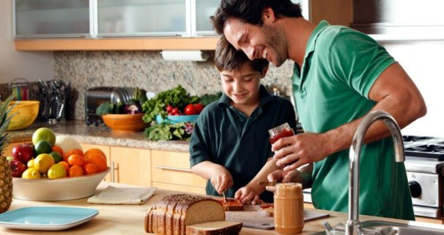 Как папе быстро научиться готовить