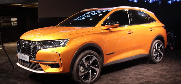 Французский премиальный автомобильный бренд DS выпустит гибридный кроссовер